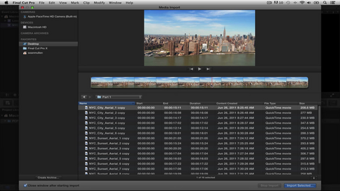 "RD ""Learning Final Cut Pro X"" Lesson 2: Importing Basics"