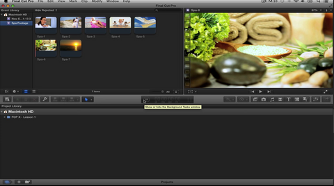 "RD ""Learning Final Cut Pro X"" Lesson 4: Analyzing & Correcting Imported Clips"