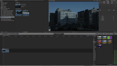 Color Correcting in FCPX