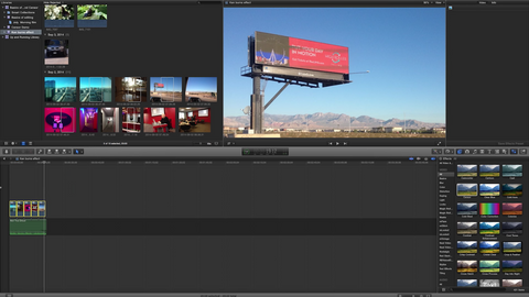 Ken burns effect in FCPX