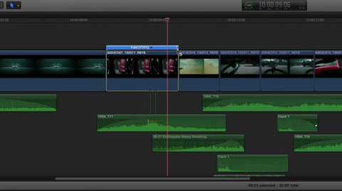 Retiming with Final Cut Pro X