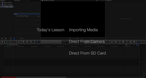 [GR] How To Import Media Into Final Cut Pro X