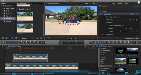 Final Cut Pro X Tutorial: Car Hit Effect!