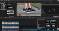 Final Cut Pro X Tutorial: Double Jump Effect!