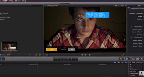 Message Animations - Final Cut Pro X