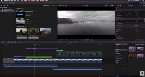 Final Cut Pro X 10.3 Update