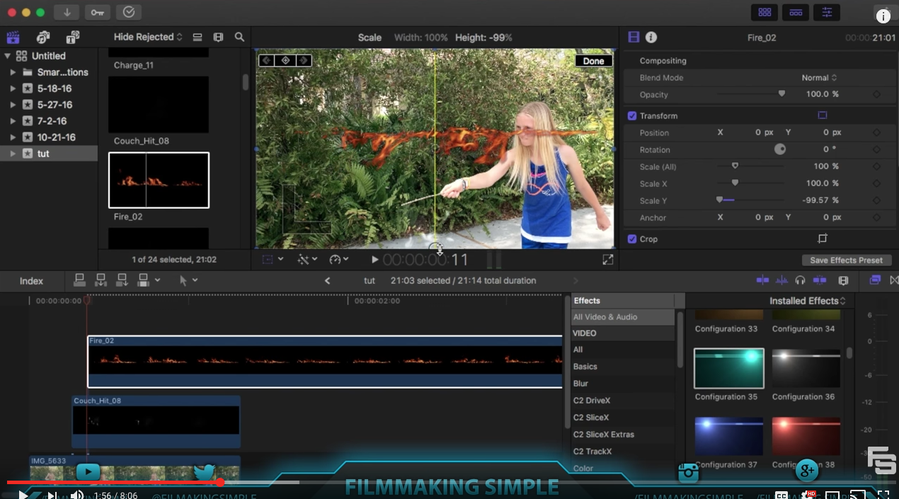 Final Cut Pro X Tutorial: Magic Effects!
