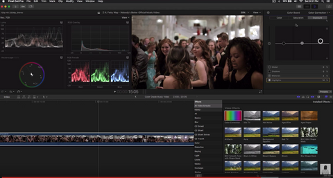 Advanced Color Grading - Final Cut Pro X