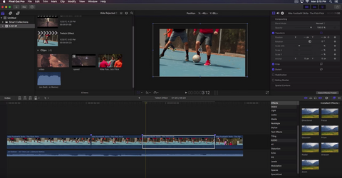 Twitch Effect - Final Cut Pro X