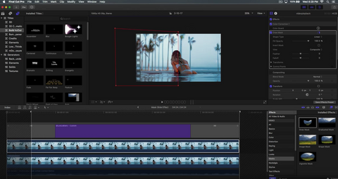 how to make graphics in final cut pro x