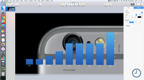 Tutorial: How to make animated charts for Final Cut Pro X using Keynote