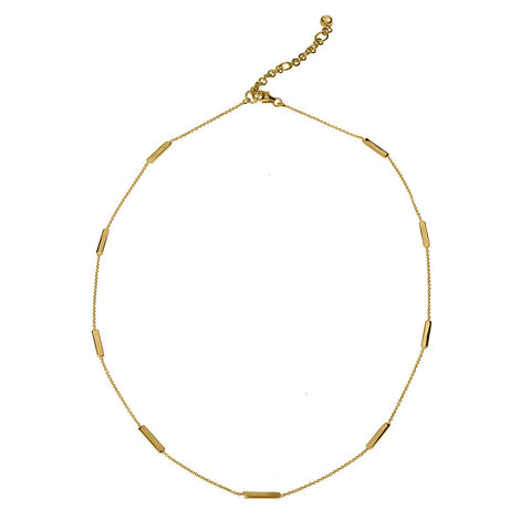 ARUNA HORIZONTAL BAR NECKLACE