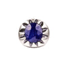 CLAW RING - BLUE SAPPHIRE