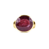 VIRA BOLD RING - RUBY