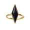 ARYA LONG BLACK ONYX RING