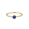 DIPTA TINY SINGLE BUBBLE RING - LAPIS LAZULI