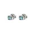 DIPTA SINGLE BUBBLE EARRINGS - LONDON BLUE TOPAZ