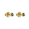 DIPTA SINGLE BUBBLE EARRINGS - BLACK SPINEL