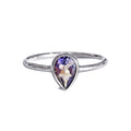 DIPTA IOLITE TOPAZ TEAR DROP RING