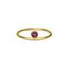 DIPTA TINY RING - RHODOLITE - GOLD