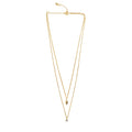 ESSENTIAL DOUBLE CHAIN NECKLACE