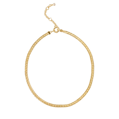 ESSENTIAL PLAIN BOLD CHOKER NECKLACE