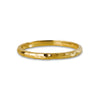 GIRI HAMMERED BAND RING - SOLID 18K GOLD