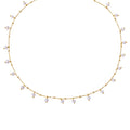 GENTA WHITE PEARL NECKLACE