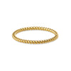 GIRI TWIST BAND RING - SOLID 18K GOLD