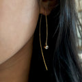 GIRI NEEDLE EARRINGS