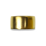 GIRI UNISEX PLAIN BOLD RING - GOLD