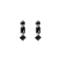 INDIRA BLACK SPINEL EARRINGS