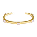NALA BANGLE - RAINBOW MOONSTONE