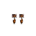 SUNDARI EARRINGS - SMOKEY QUARTZ