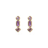 INDIRA PINK AMETHYST EARRINGS