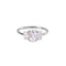 TRIO STONE RING - WHITE CZ