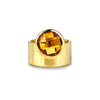 VIRA BOLD RING - CITRINE