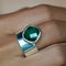 VIRA BOLD RING - GREEN QUARTZ