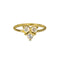 ASMARA RAINBOW MOONSTONE RING - GOLD