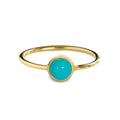 DIPTA MEDIUM BUBBLE RING - TURQUOISE