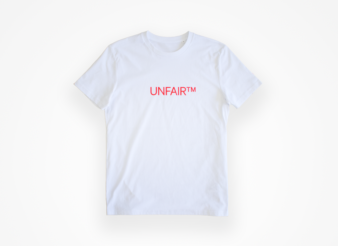 Unfair™ T-shirt (white)