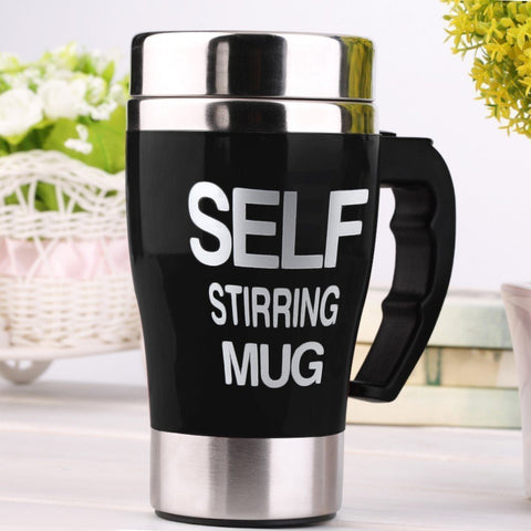 Quirk Automatic Coffee Mixing Cup