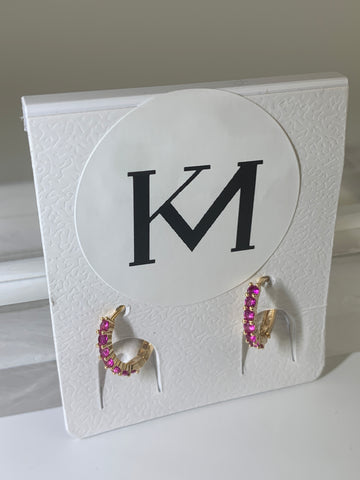 MIAMI Earrings Pink