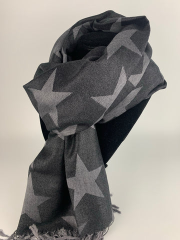 Black Star Scarf