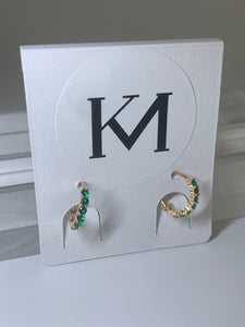 MIAMI Earrings Green