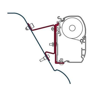 F45 Adapter KIT SPRINTER H3 WESTFALIA (98655-591)