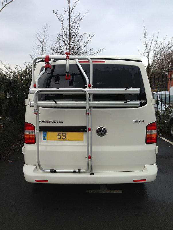 Fiamma Carry Bike Rack VW T5 D - 2