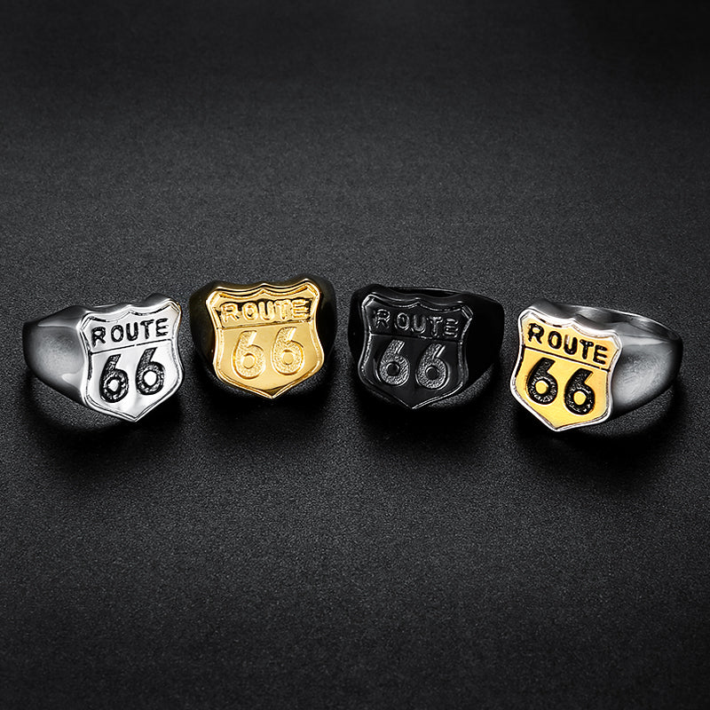 • Letter and Number Rings: These designs of biker rings are symbolized with letters, numbers, or a combination of both. They have become increasingly household name and favorite choice among bikers. They are easy to be customized. The numbers or letters are designed to symbolize a rider's definite club. Examples include Number 12 Sterling Silver ring.