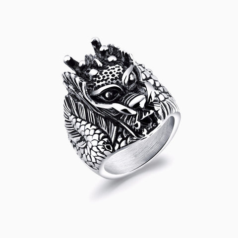 Charlie Matthews Dragon Head Ring