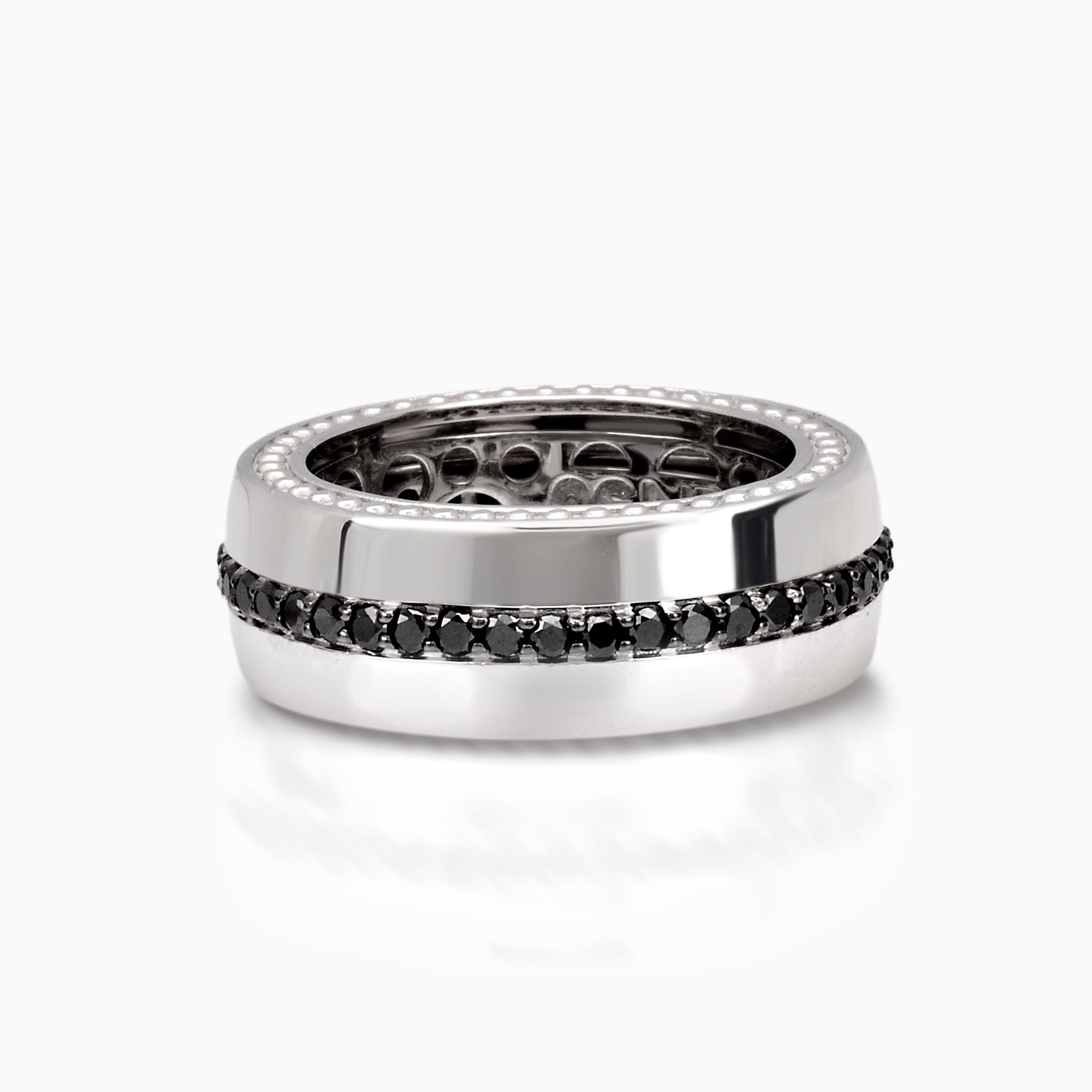 single fede band ring